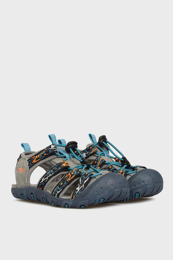 Детские синие сандалии