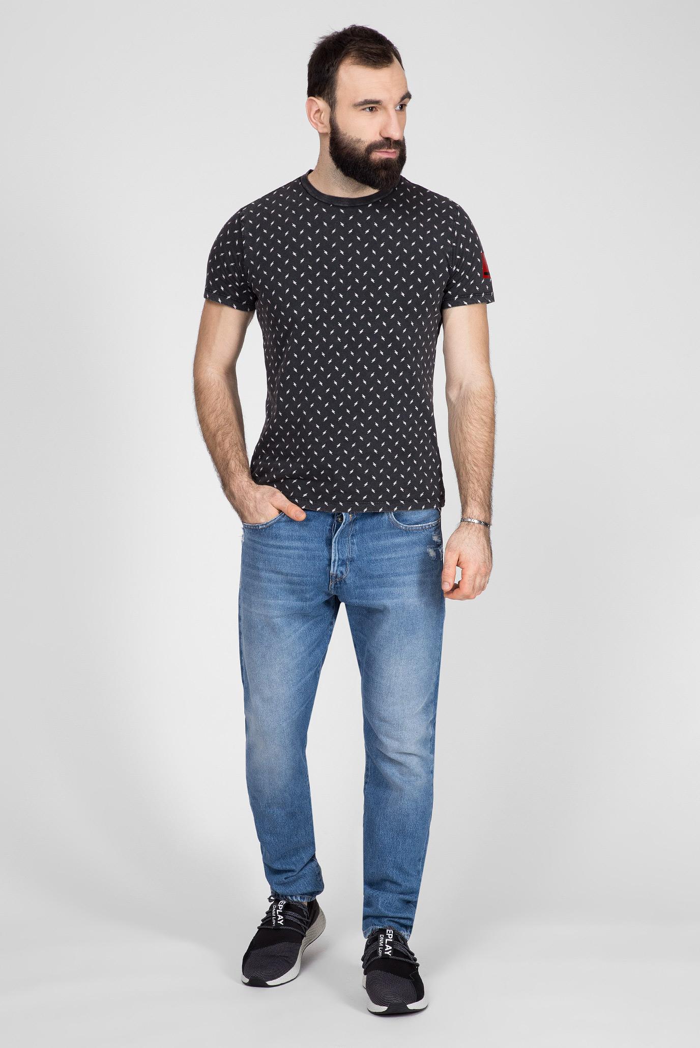 Мужские синие джинсы TINMAR Replay