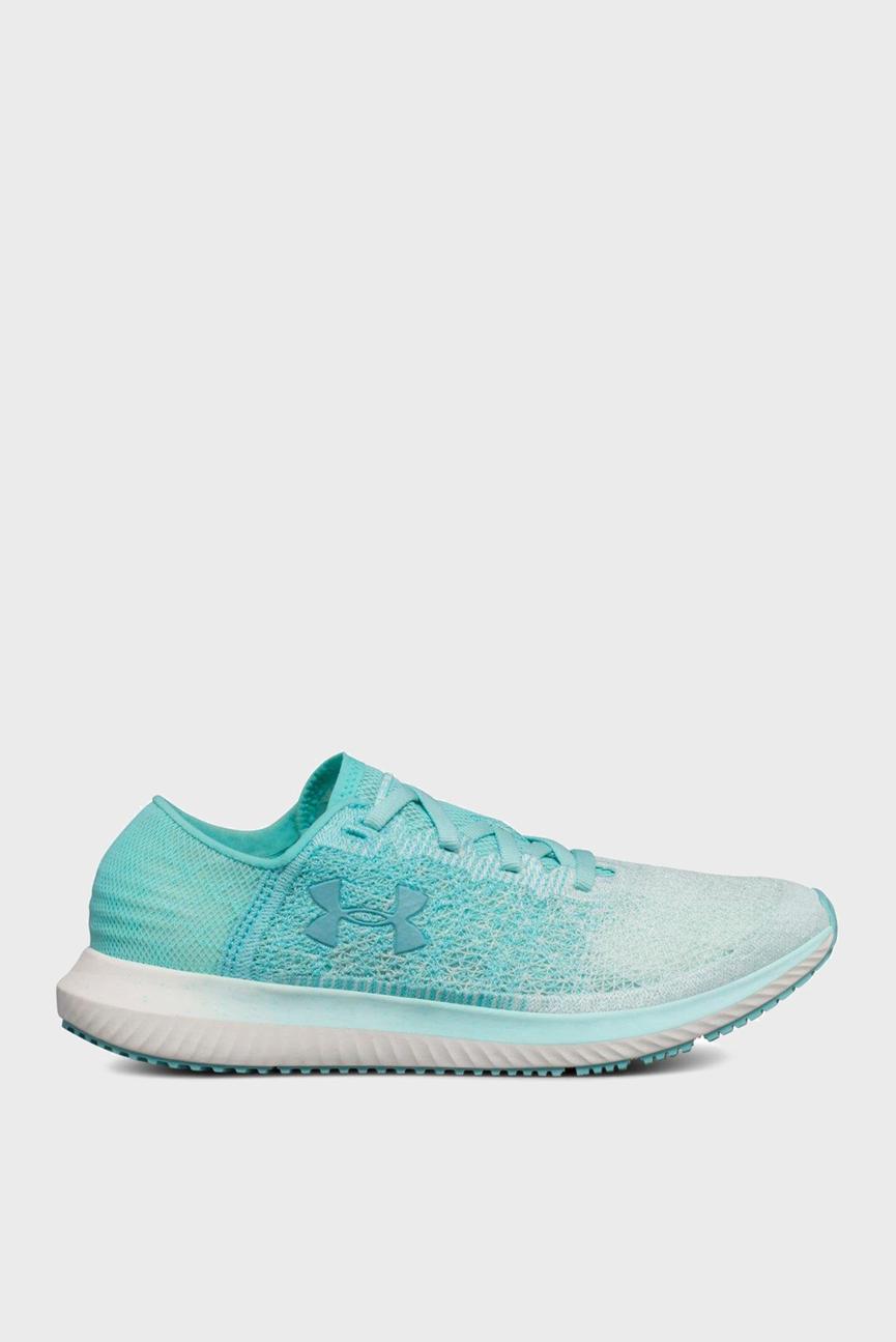 Женские голубые кроссовки UA Threadborne Blur