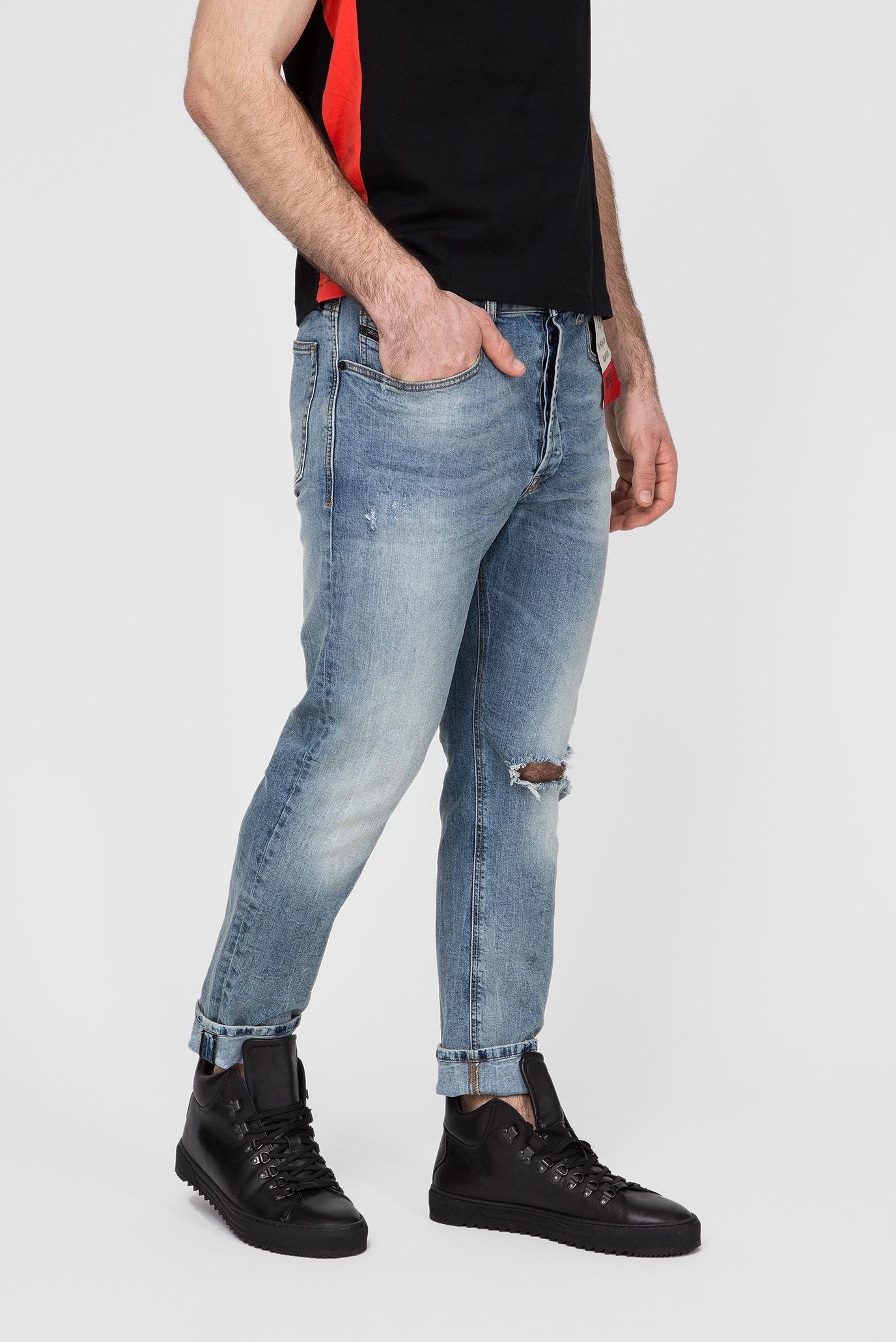 Купить Мужские синие джинсы D-EETAR Diesel Diesel 00SQLY 087AV – Киев, Украина. Цены в интернет магазине MD Fashion