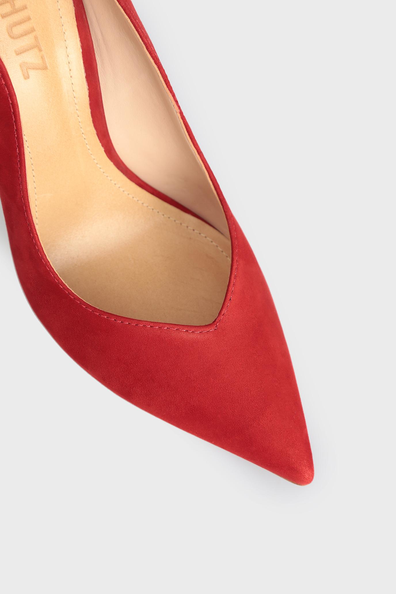 Купить Женские красные кожаные лодочки Schutz  Schutz  S0209103910002 – Киев, Украина. Цены в интернет магазине MD Fashion