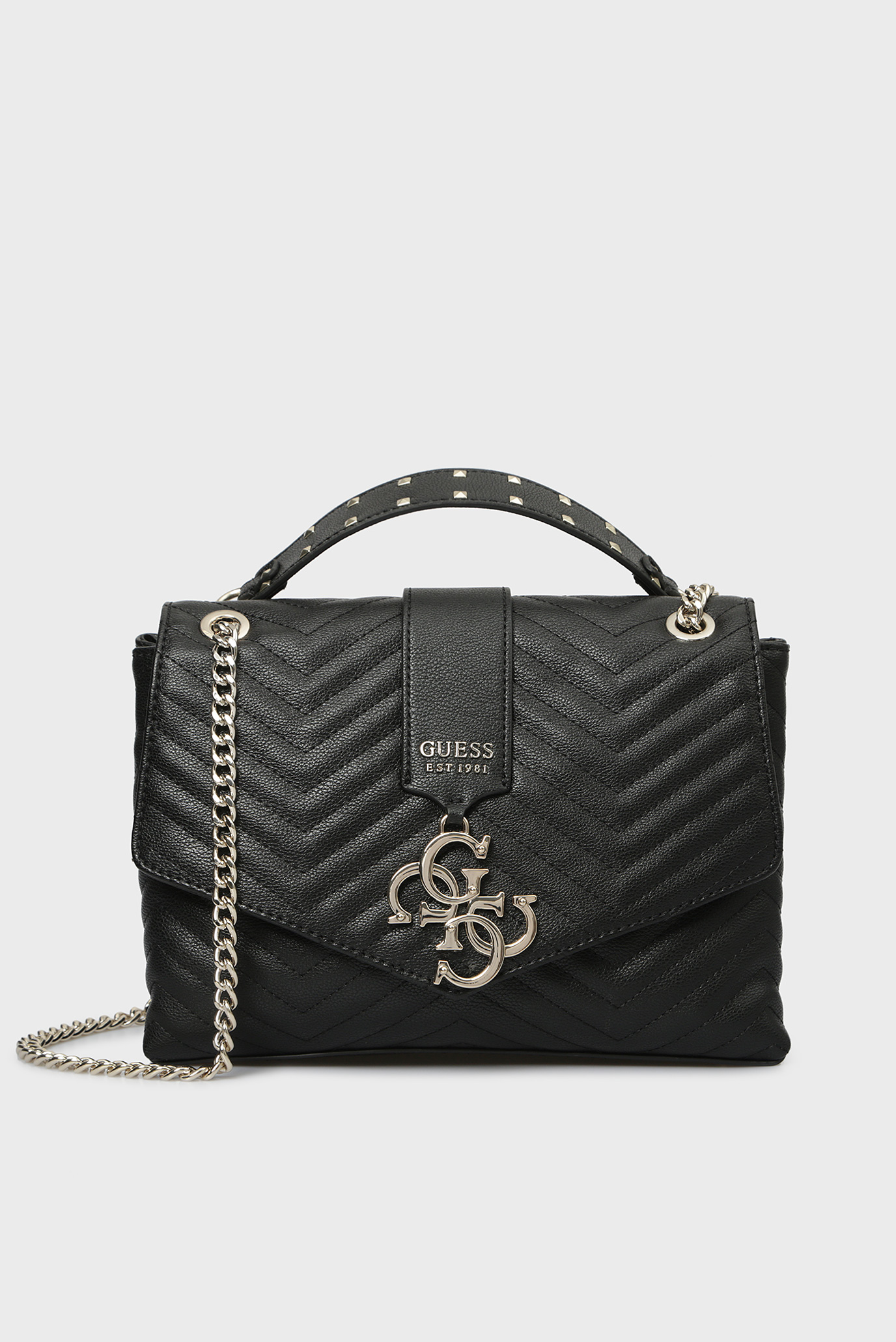 6342fa69 Купить Женская черная сумка на плечо VIOLET Guess Guess HWVG7294200 – Киев,  Украина. Цены в интернет магазине ...