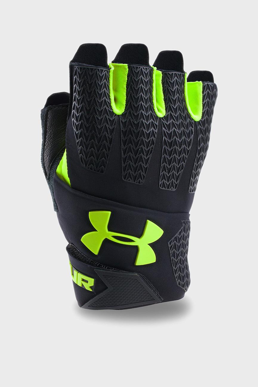 Мужские черные перчатки для зала UA Clutchfit Resistor