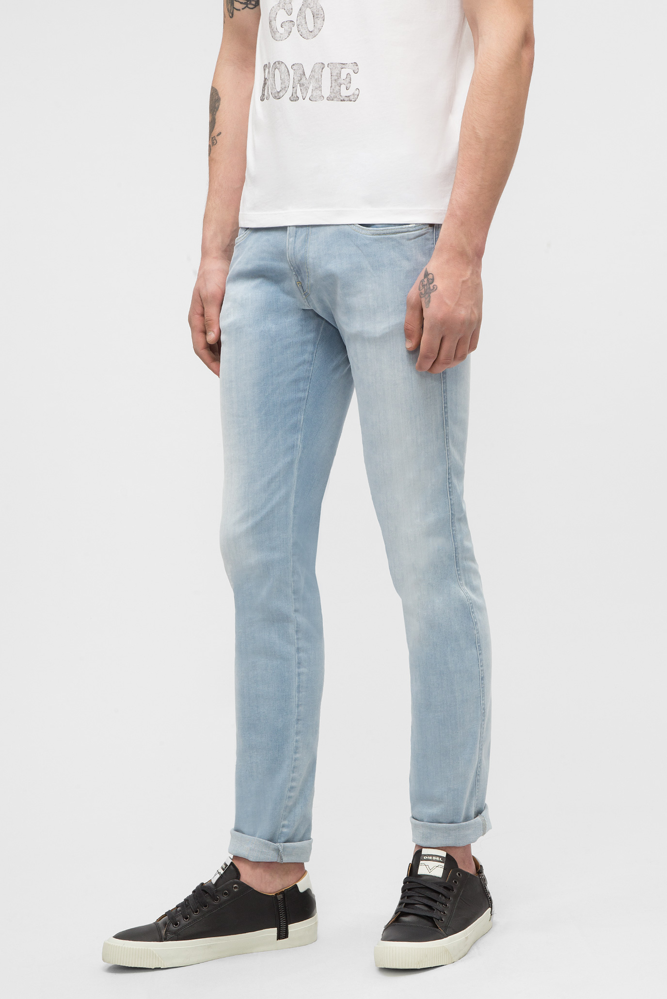 Купить Мужские голубые джинсы ANBASS Replay Replay M914  .000.661 035 – Киев, Украина. Цены в интернет магазине MD Fashion