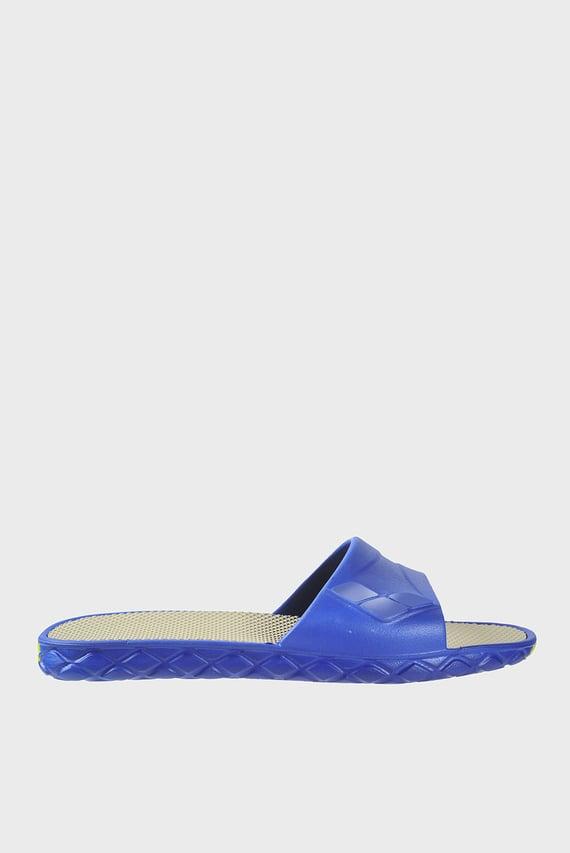 Женские синие слайдеры WATERGRIP