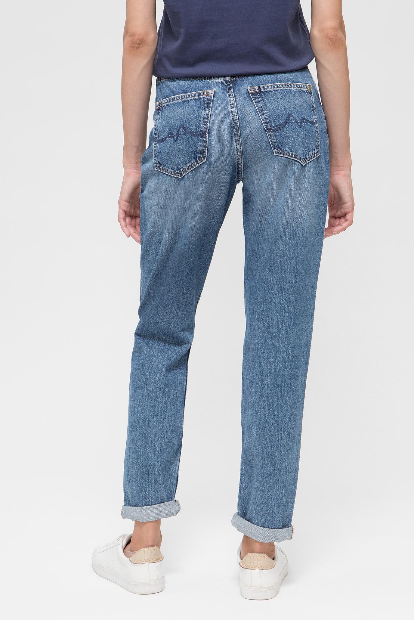 Купить Женские синие джинсы MOMSY Pepe Jeans Pepe Jeans PL201743WX50 – Киев, Украина. Цены в интернет магазине MD Fashion
