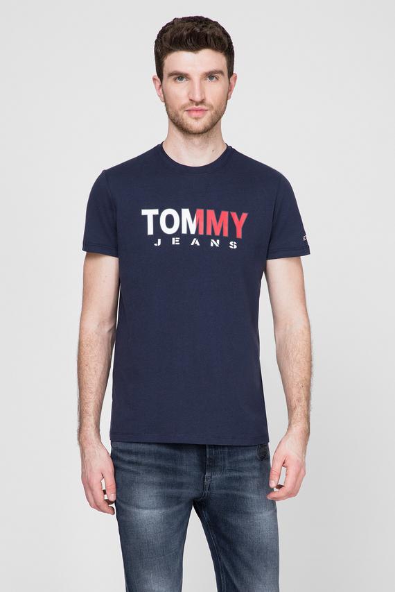 Мужская темно-синяя футболка TJM TOMMY COLORED