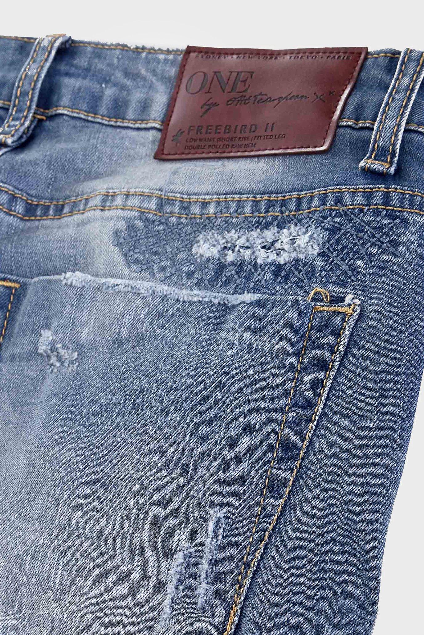 Купить Женские голубые джинсы FREEBIRDS II One Teaspoon One Teaspoon 19144B – Киев, Украина. Цены в интернет магазине MD Fashion