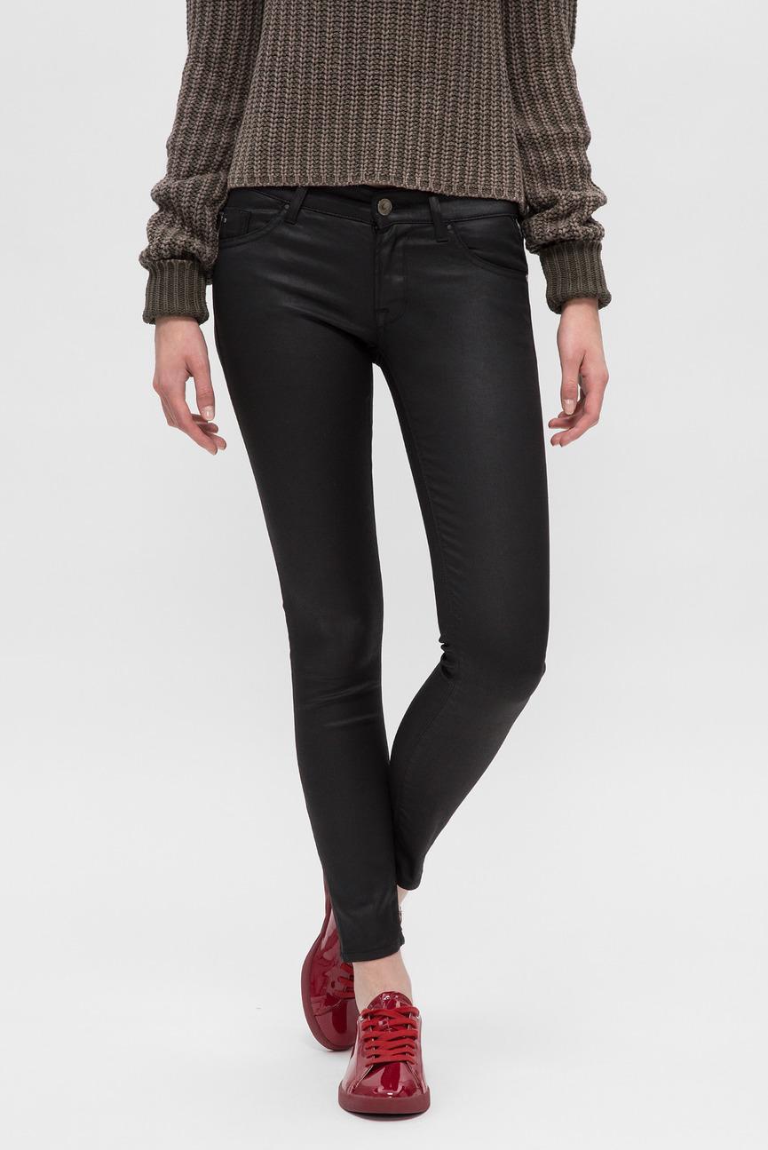 Женские черные брюки LUZ BACK ZIP