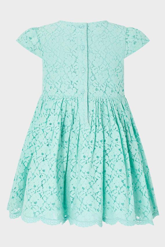 Детское голубое платье BABY DANA LACE DRESS