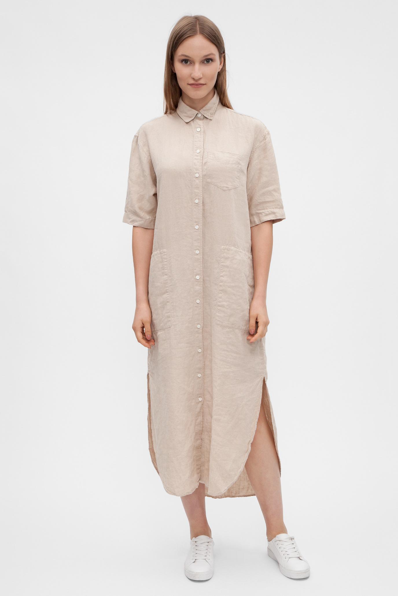 00872ff357d5 Купить Женское бежевое платье Gant Gant 4508009 – Киев, Украина ...