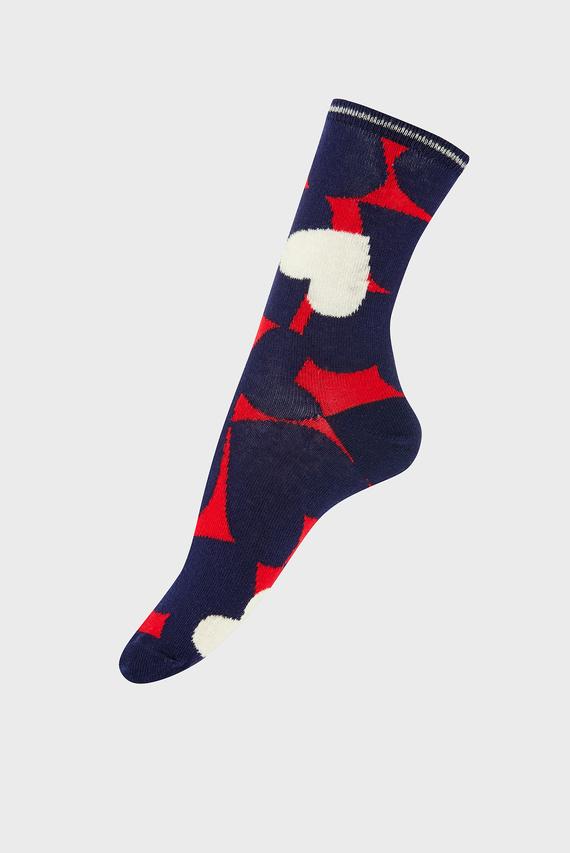 Женские хлопковые носки ABSTRACT HEART SOCK