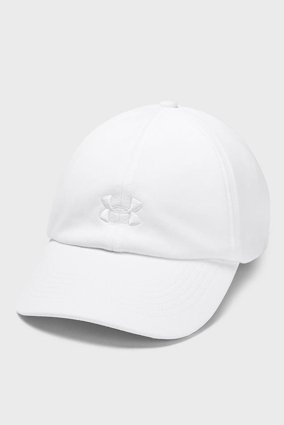 Женская белая кепка UA Play Up Cap