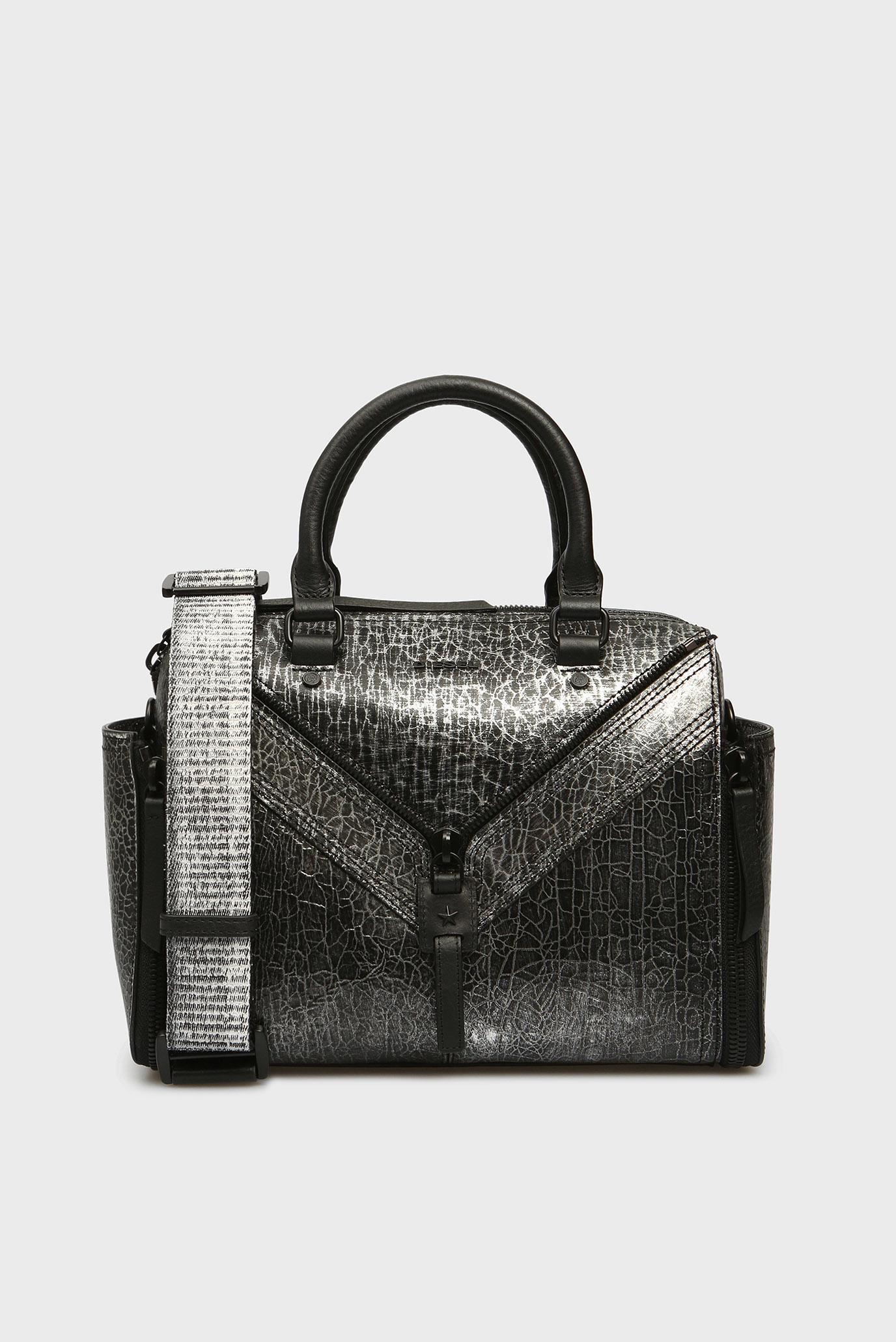 9a9357a47cb2 Купить Женская черная кожаная сумка на плечо Diesel Diesel X03629 P1819 –  Киев, Украина. Цены в интернет ...