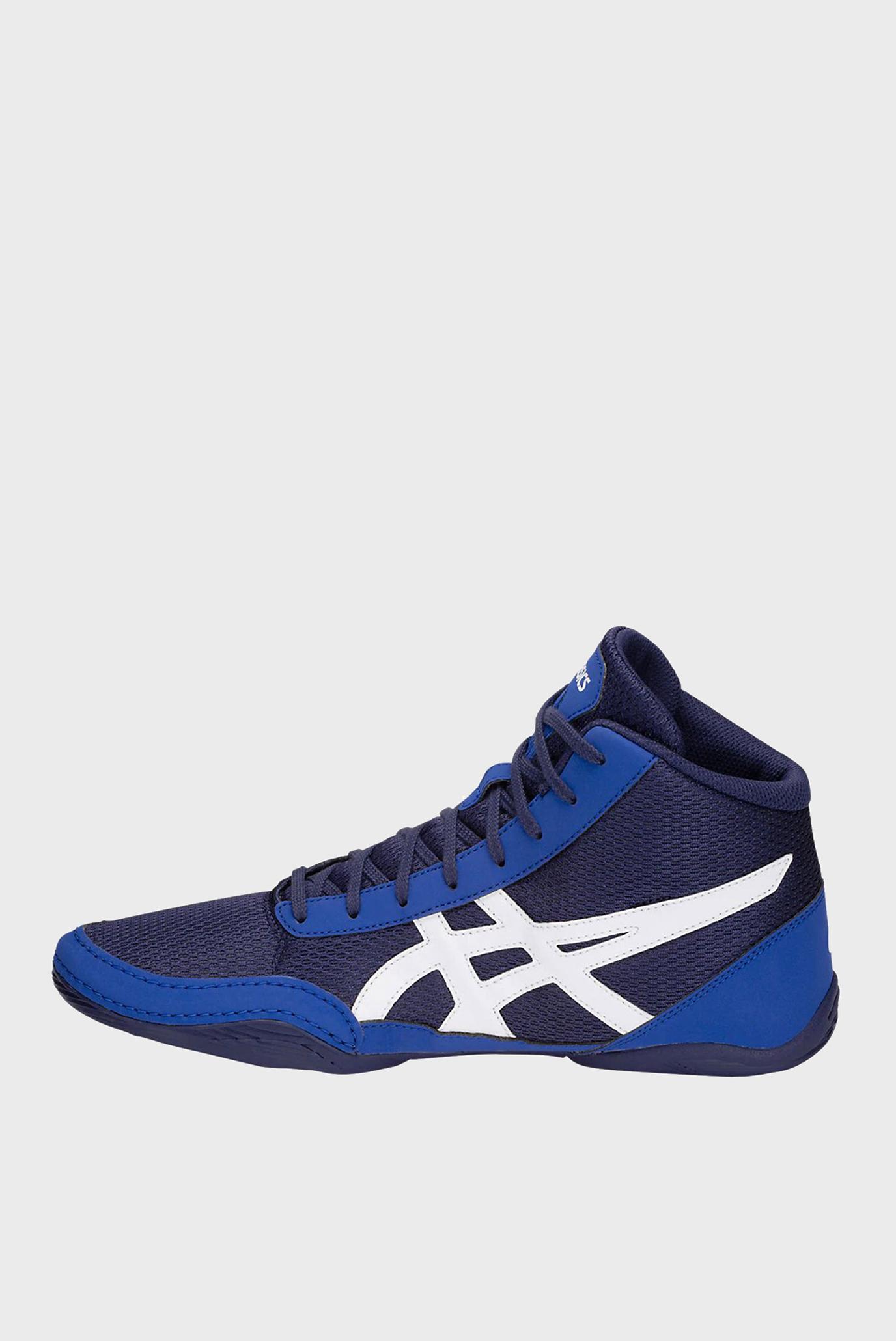 Синие кроссовки для борьбы MATFLEX 5 Asics