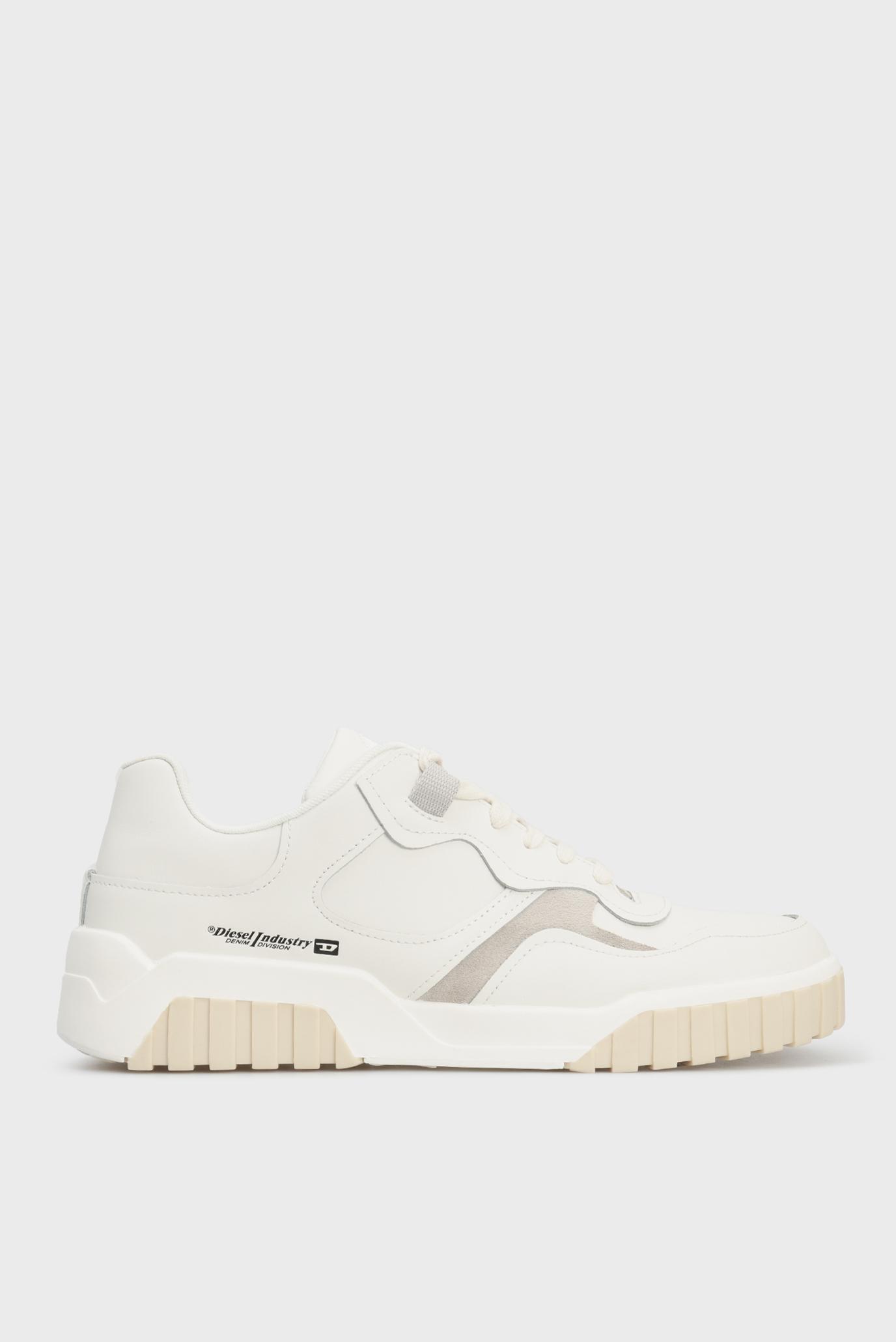 Чоловічі білі шкіряні кросівки S-RUA LOW SK 1