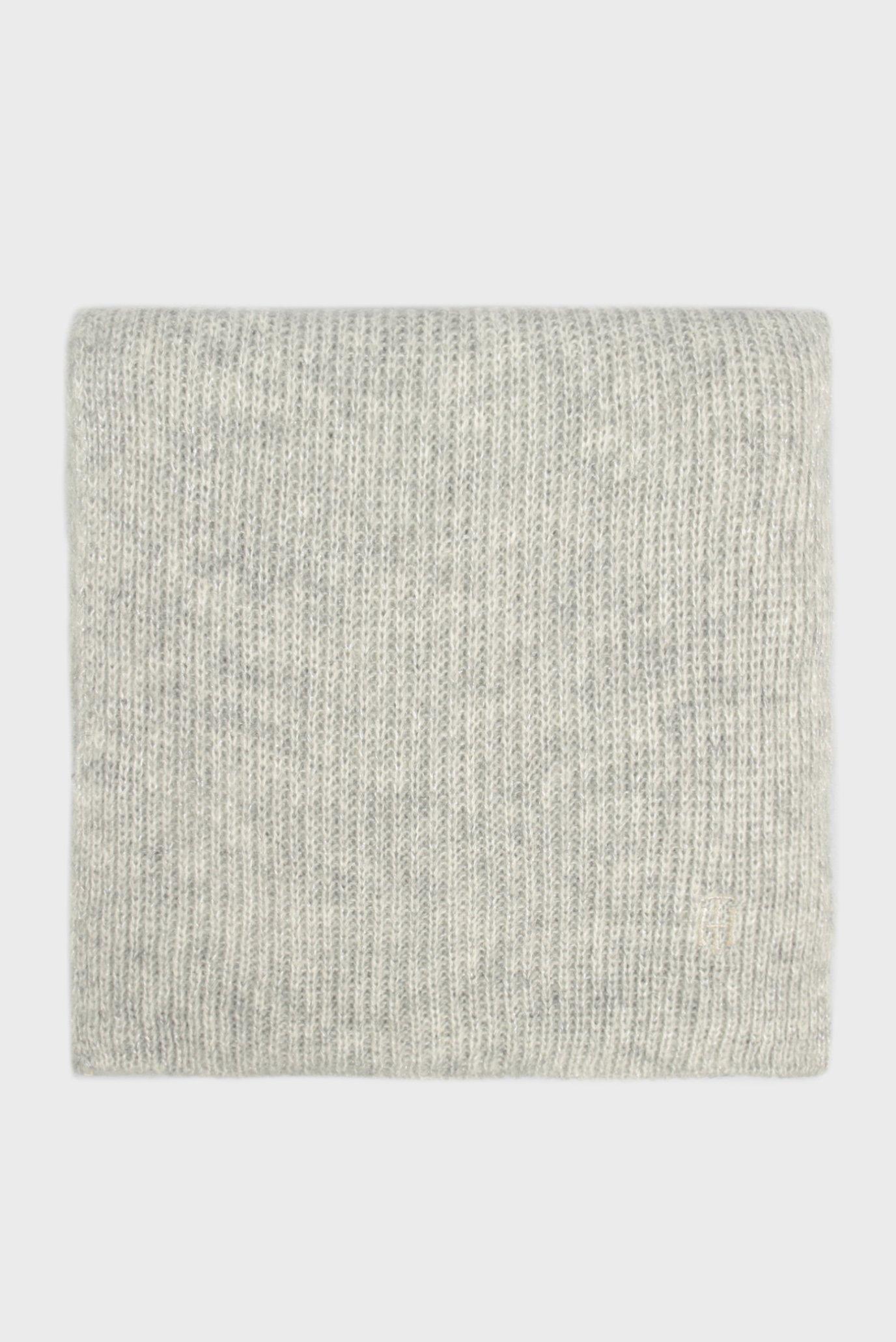 Жіночий сірий шарф TH EFFORTLESS 1