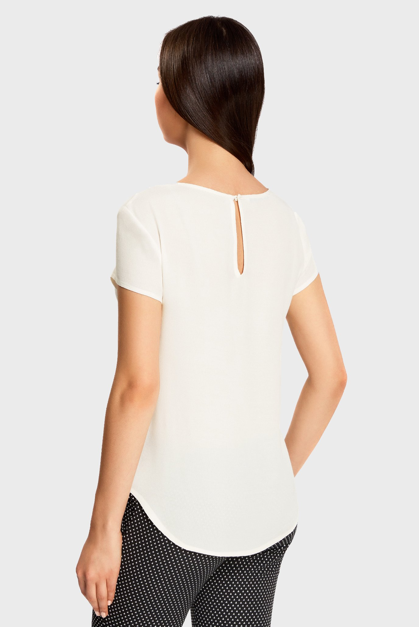 Купить Женская белая блуза Oodji Oodji 11411138B/46249/1200N – Киев, Украина. Цены в интернет магазине MD Fashion