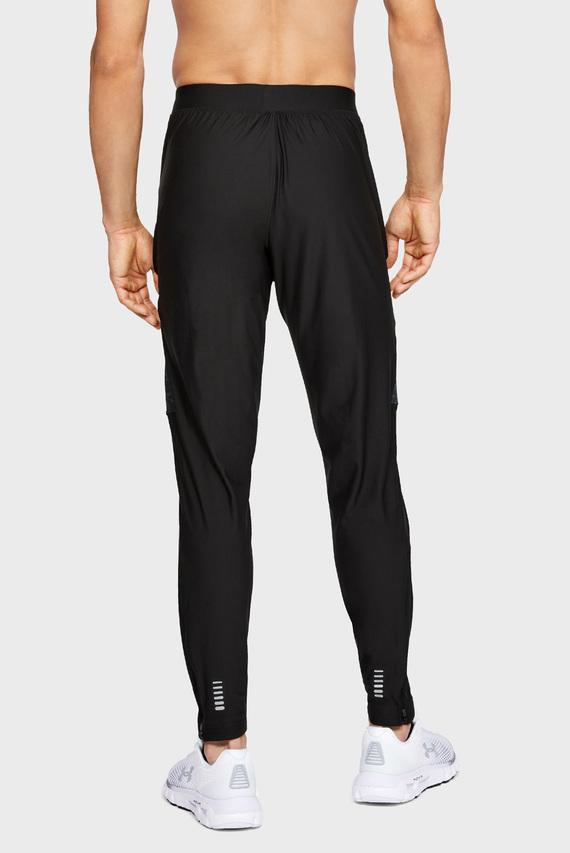 Мужские черные спортивные брюки UA QUALIFIER CAMO