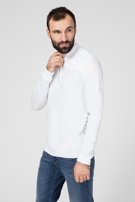 Мужской белый лонгслив  T-DIEGO-LS-DOLCE