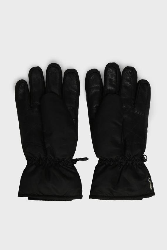 Женские черные рукавицы