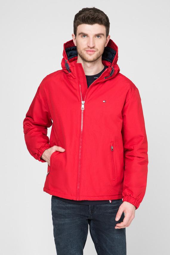 Мужская красная куртка HOODED BLOUSON
