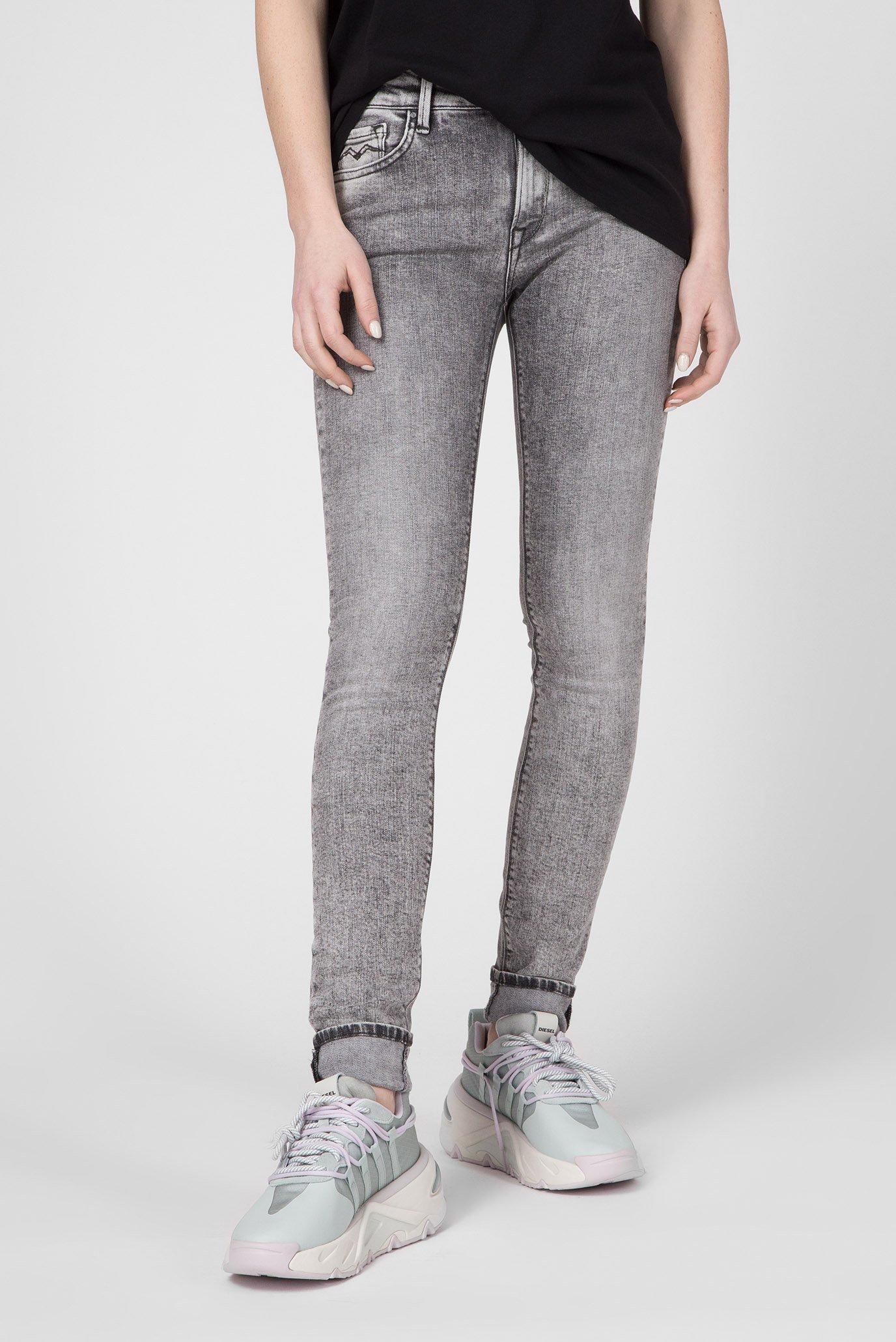 Жіночі сірі джинси NEW LUZ 1