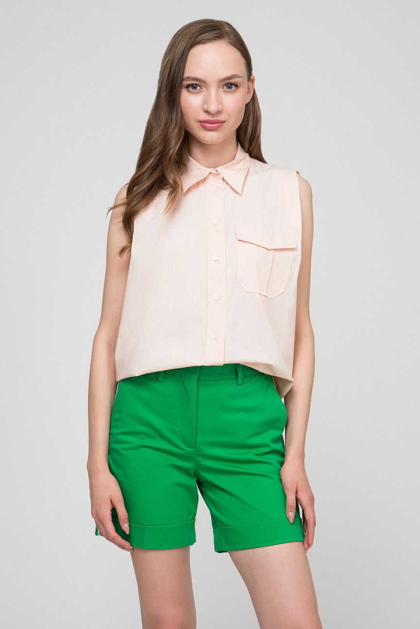 Женская персиковая рубашка POLICE