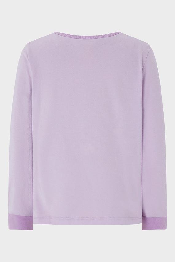 Детская фиолетовая пижама HENSLEY UNICORN JERS