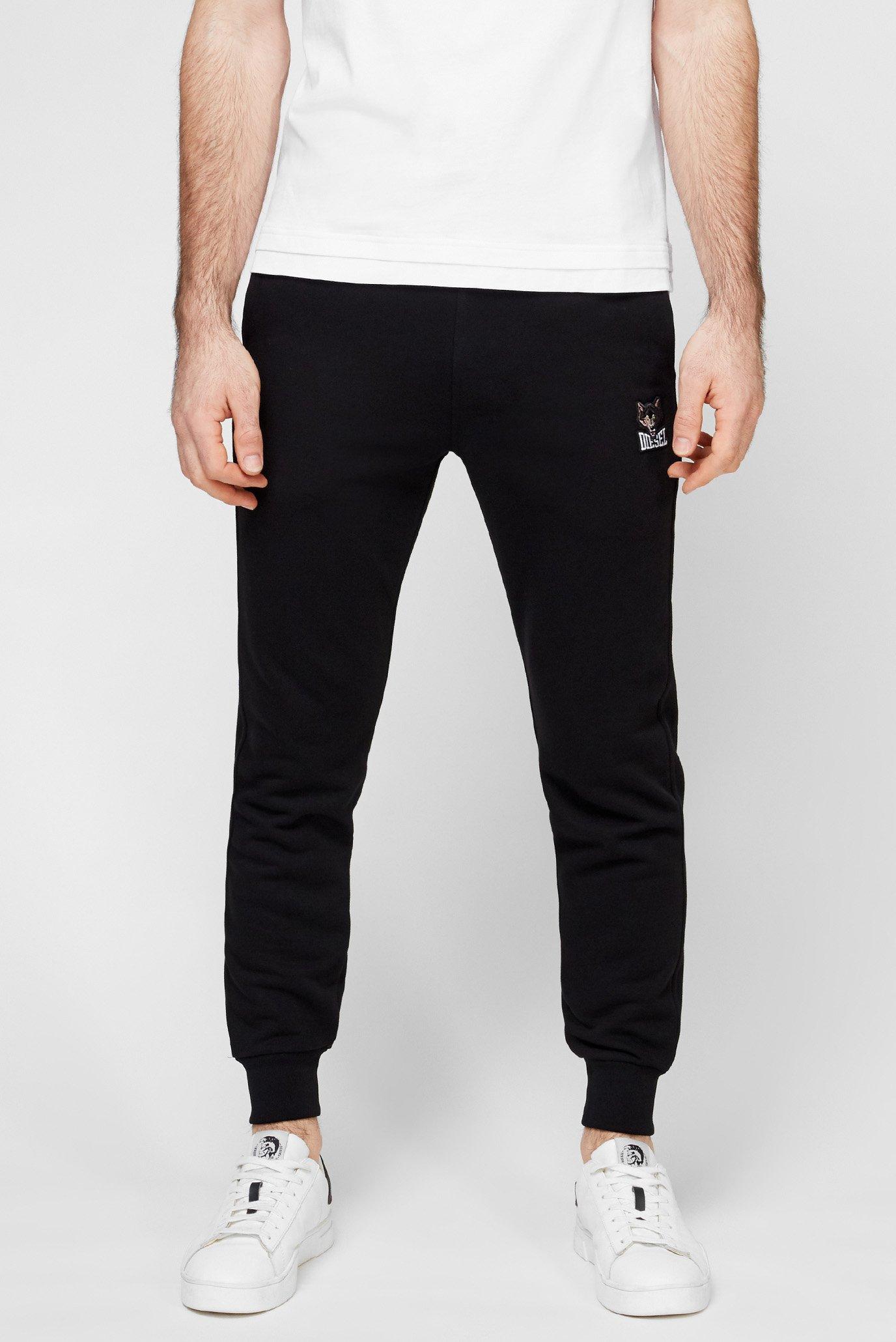 Мужские черные спортивные брюки UMLB PETER 1