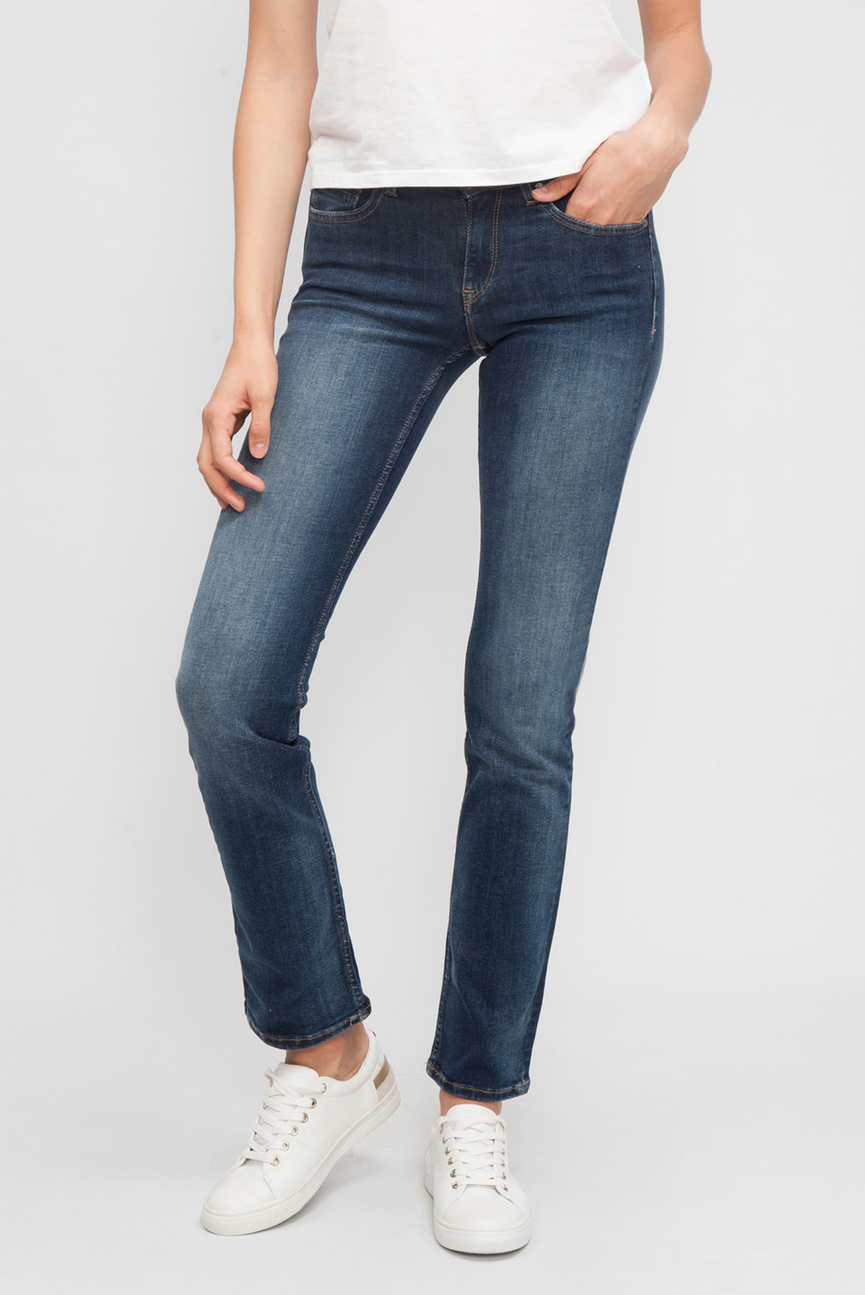 Женские темно-синие джинсы MID RISE STRAIGHT SANDY VIBST