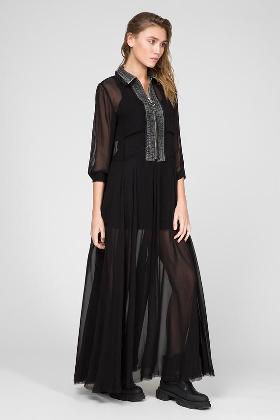 Женское черное платье D-RAHAN-A