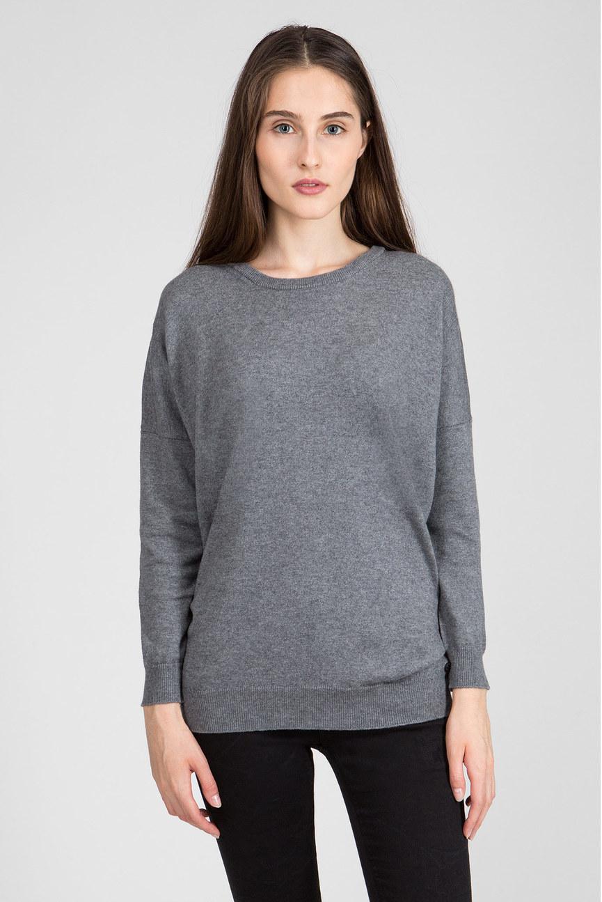 Женский серый свитер