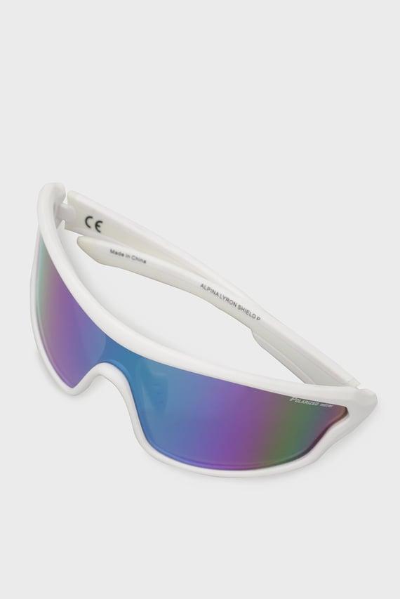 Белые солнцезащитные очки ALPINA LYRON SHIELD