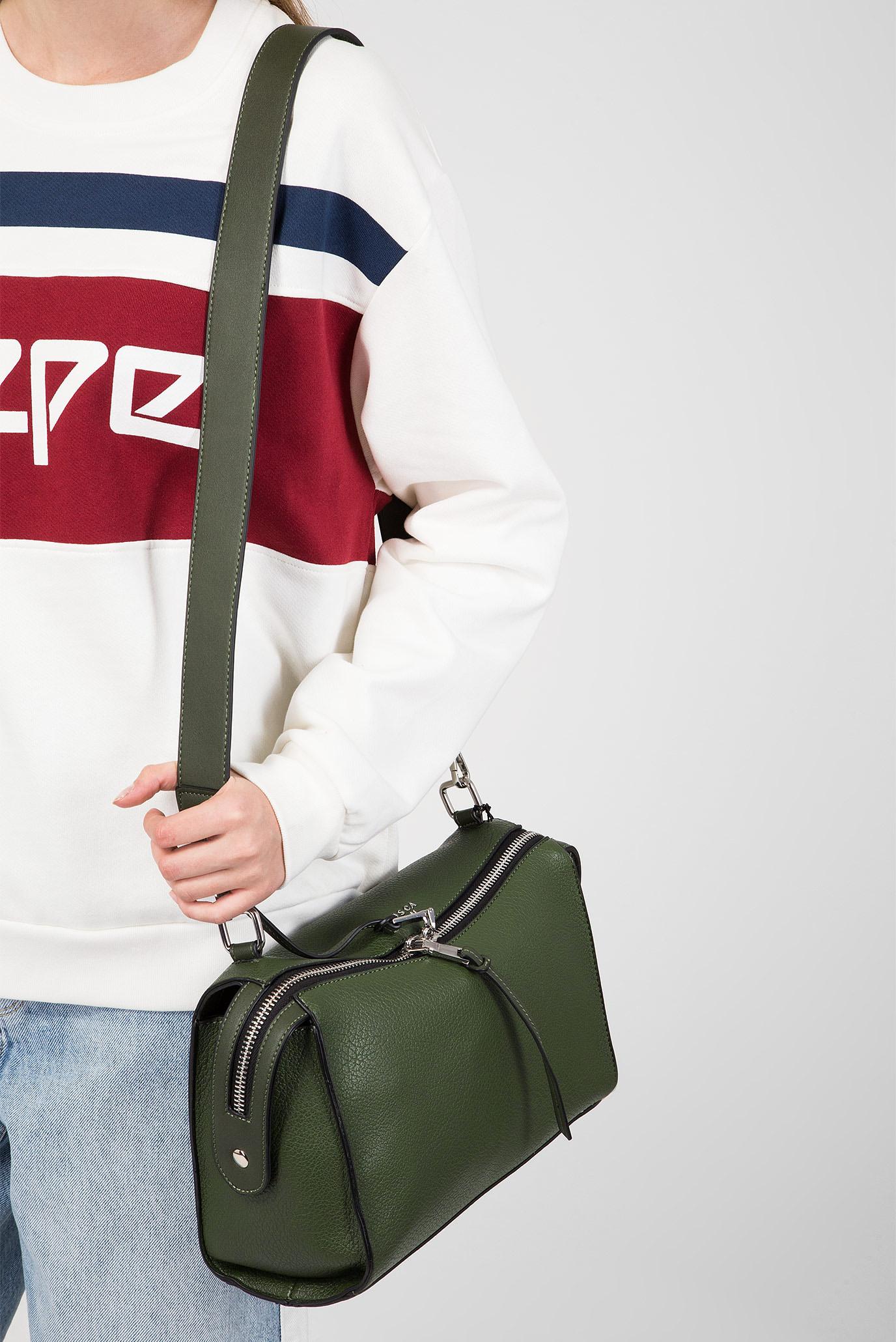 df5ee6972093 Купить Женская зеленая сумка через плечо Tosca Blu Tosca Blu TF1818B07 –  Киев, Украина. Цены в интернет ...