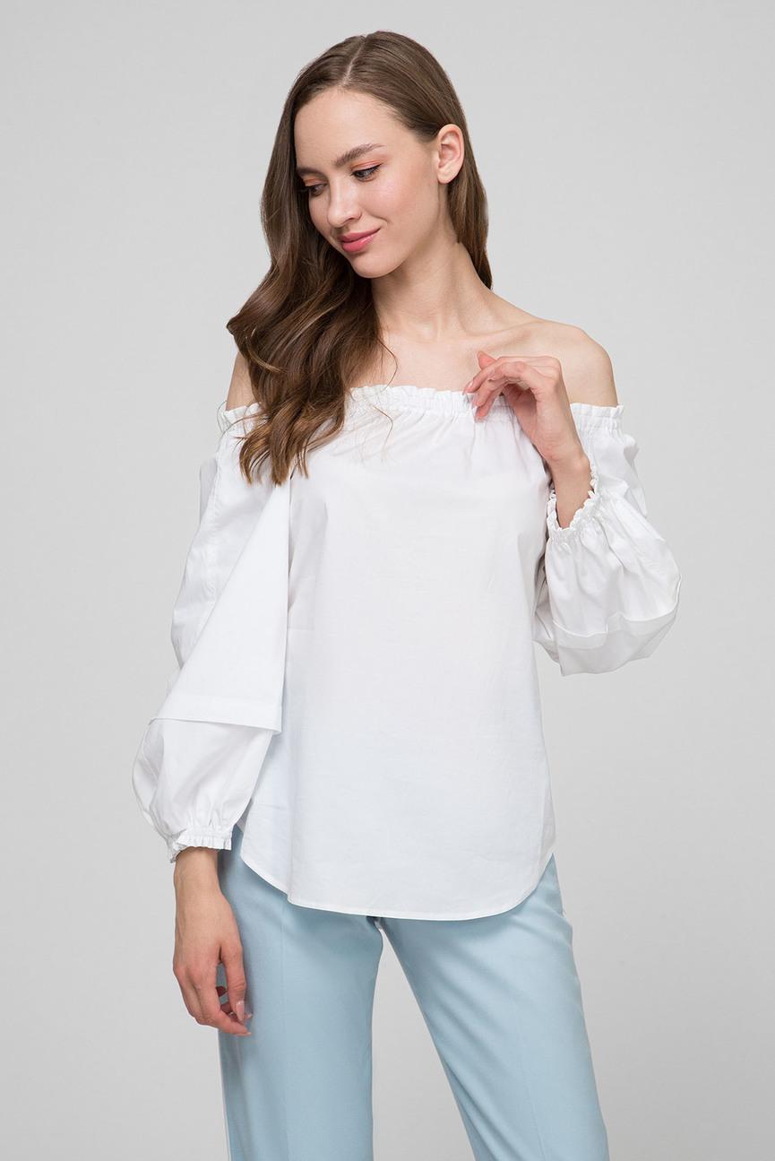 Женская белая блуза PRONOUNCED SLV BLOUSE
