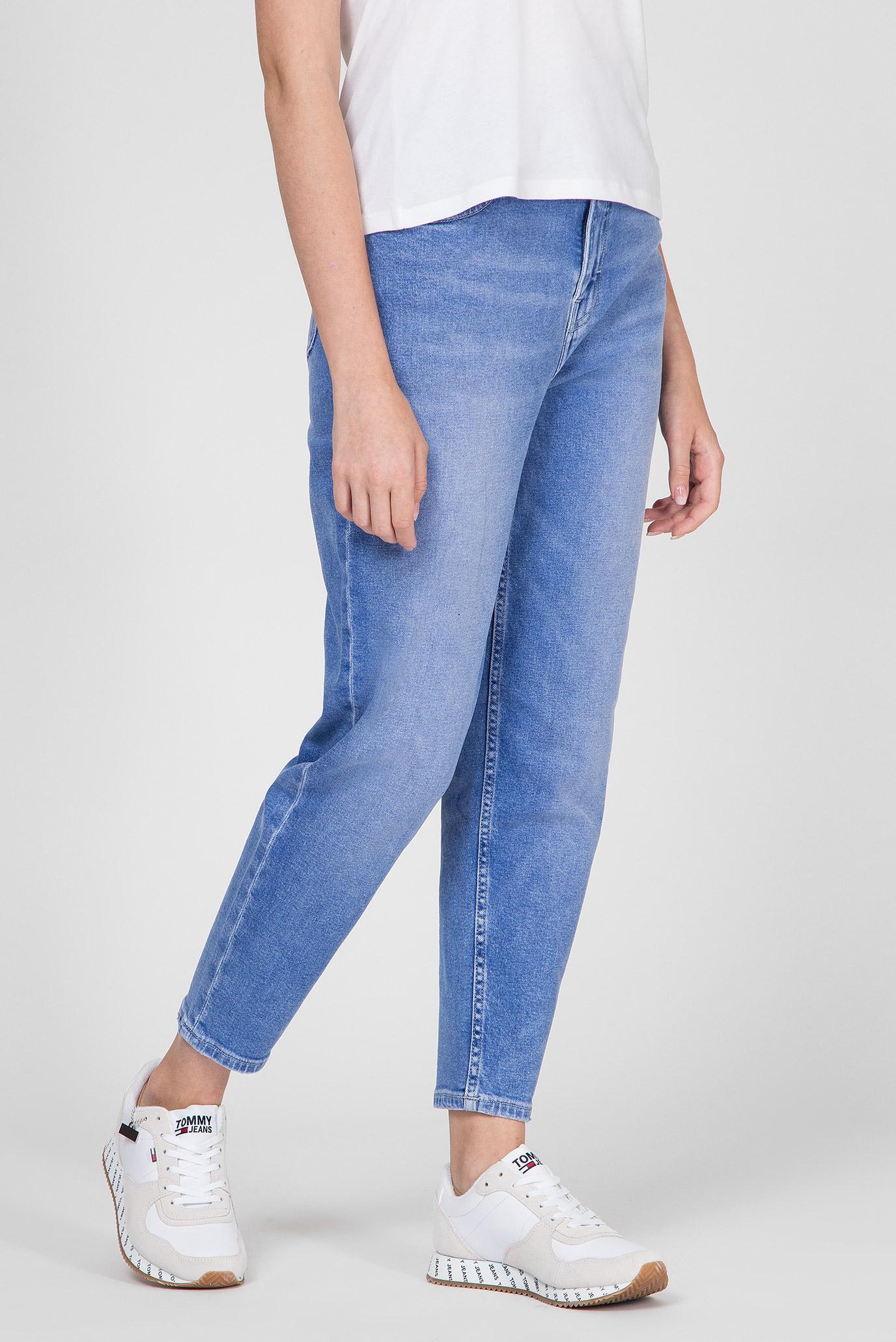 Купить Женские голубые джинсы HIGH RISE TAPERED TJ 2004 AZRLT Tommy Hilfiger Tommy Hilfiger DW0DW06284 – Киев, Украина. Цены в интернет магазине MD Fashion