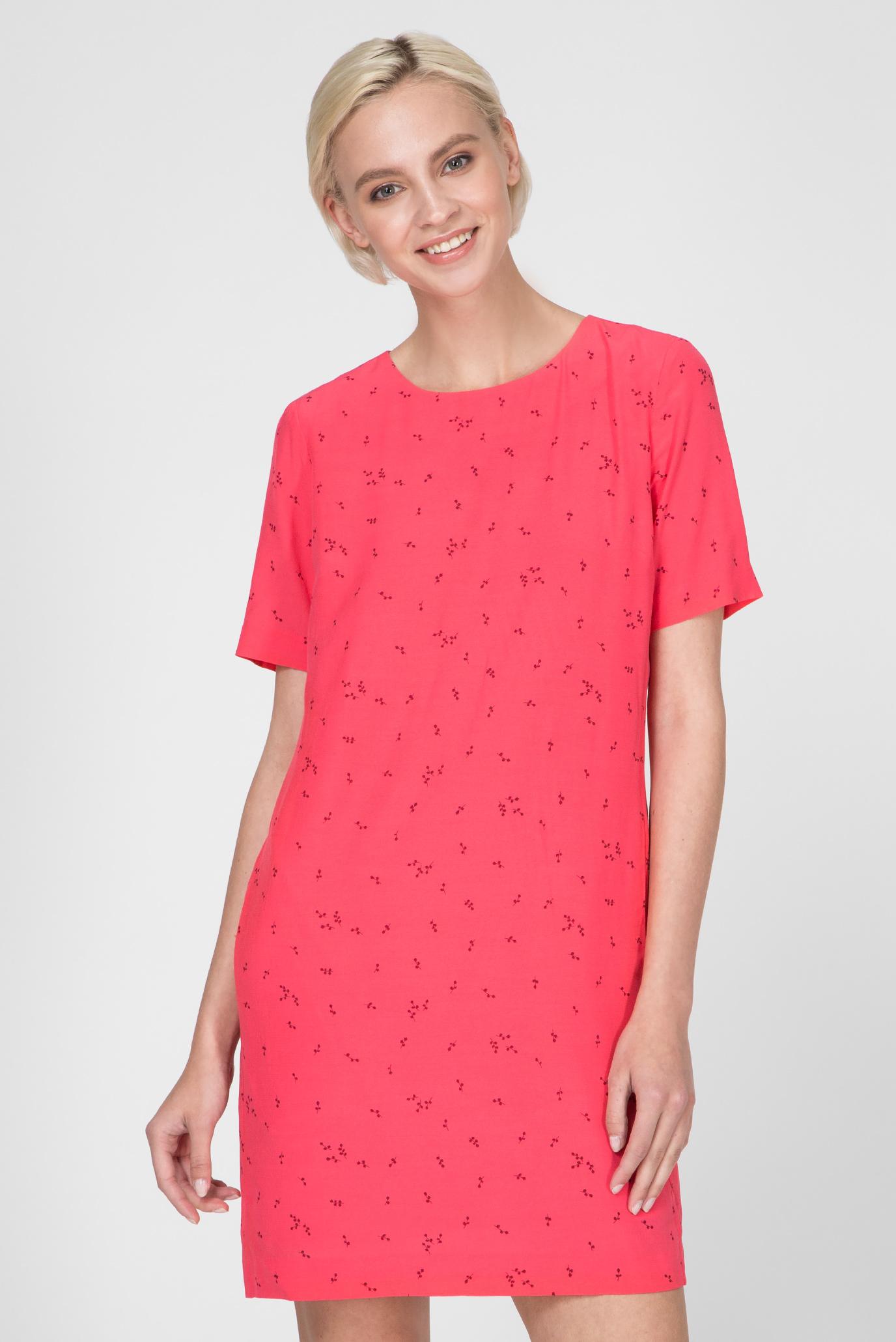 4a7bce63b920 Купить Женское малиновое платье MICROFLOWER PRINT Gant Gant 4501037 ...