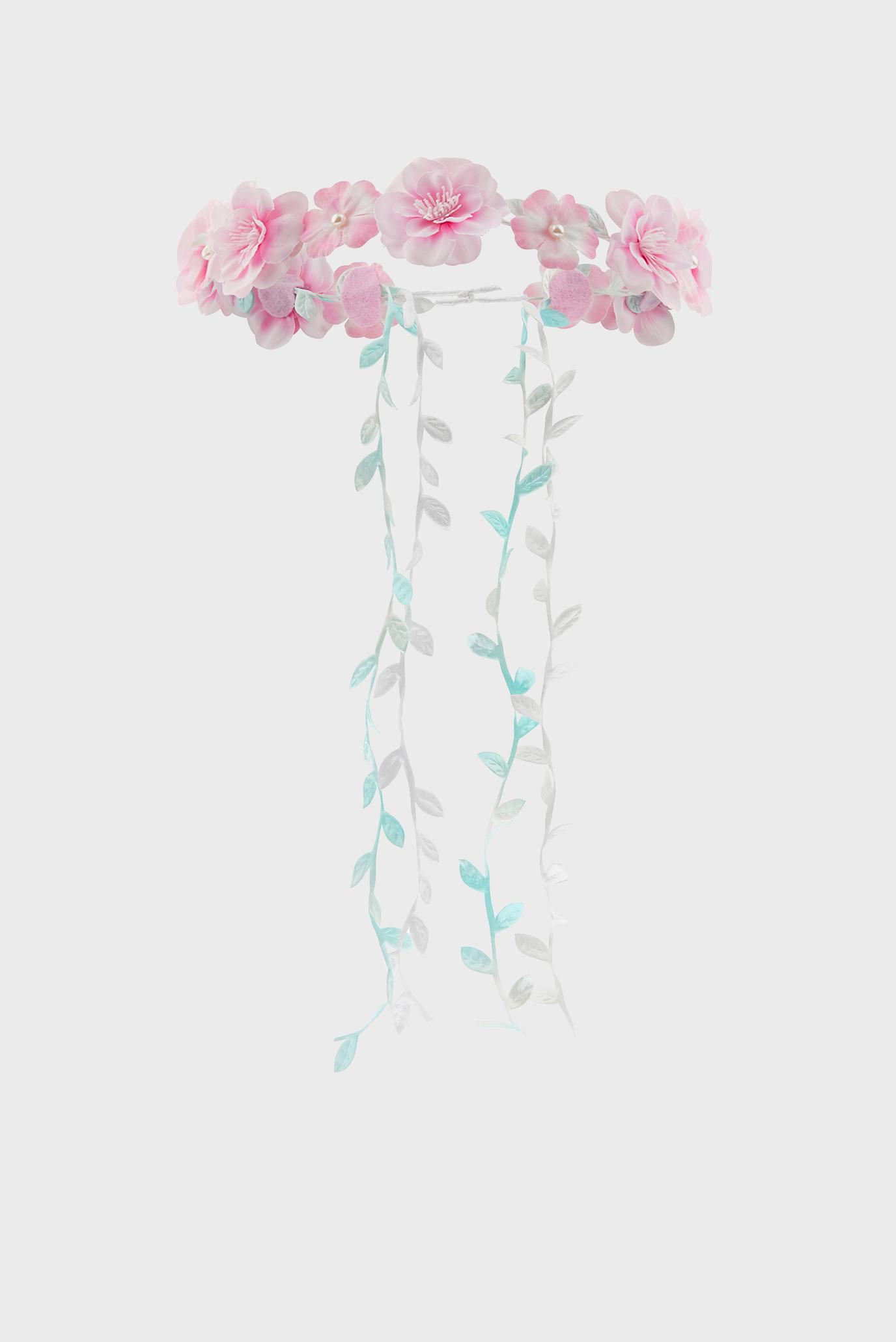 Купить Детский розовый обруч Rosa Flower Garland Monsoon Children Monsoon Children 610479 – Киев, Украина. Цены в интернет магазине MD Fashion