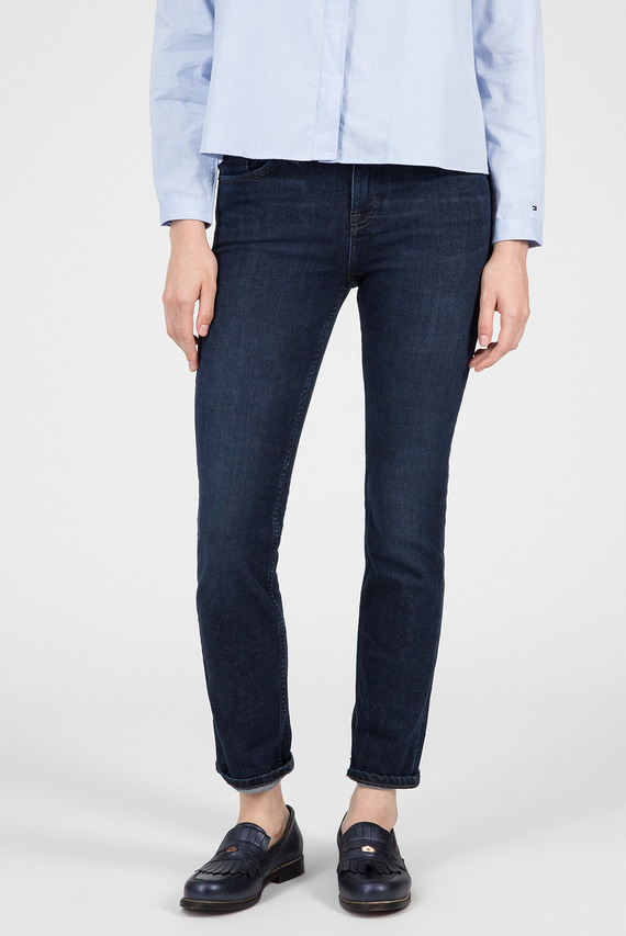 Женские темно-синие джинсы ROME