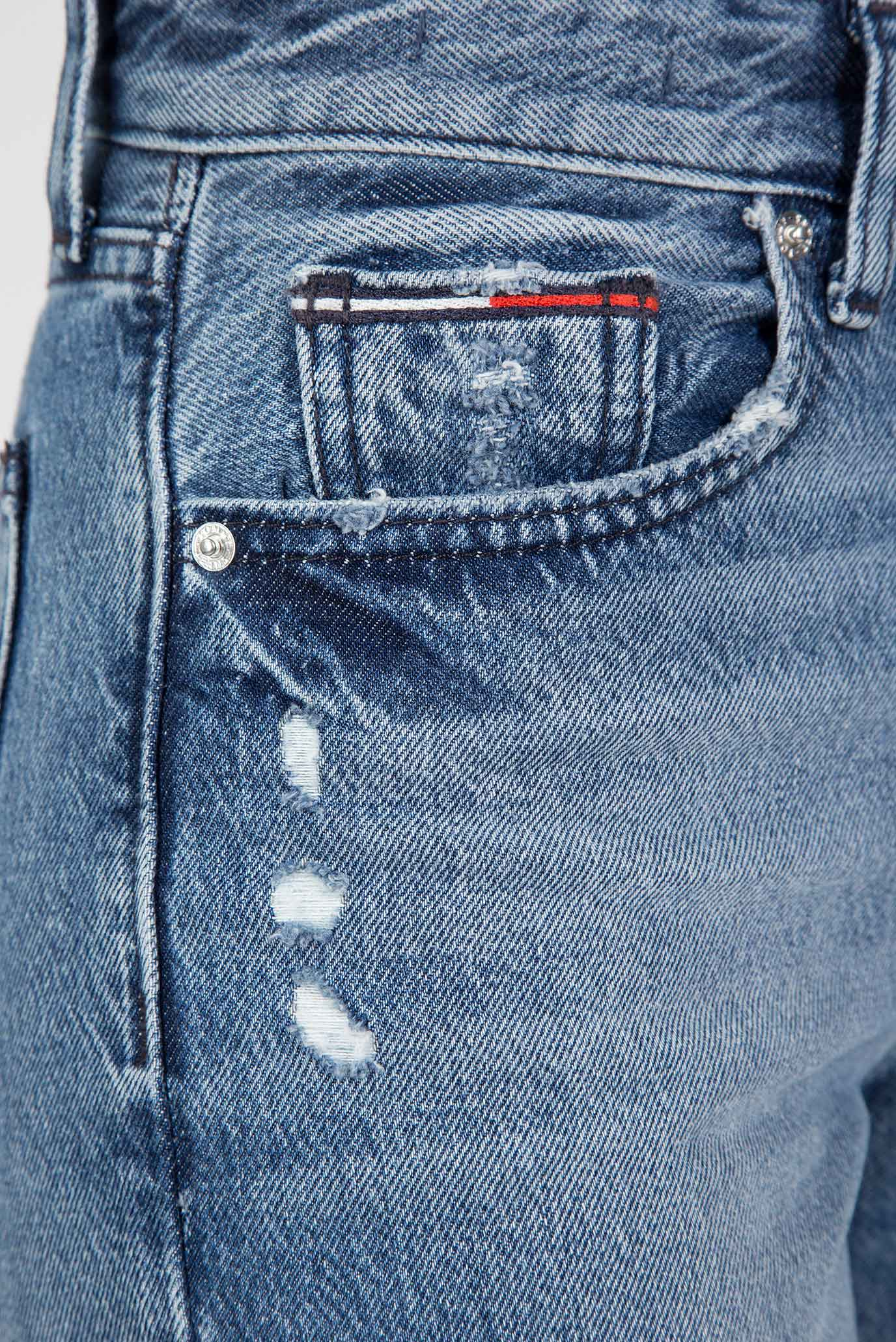 Купить Женские голубые джинсы High Rise Slim Cropped IZZY Tommy Hilfiger Tommy Hilfiger DW0DW05019 – Киев, Украина. Цены в интернет магазине MD Fashion