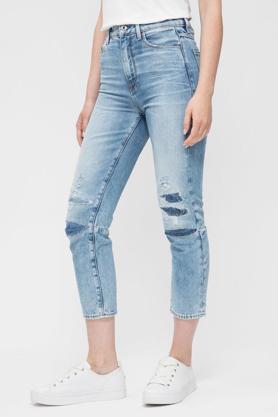 Женские голубые джинсы 3301 Ultra High Straight 7/8 3dr