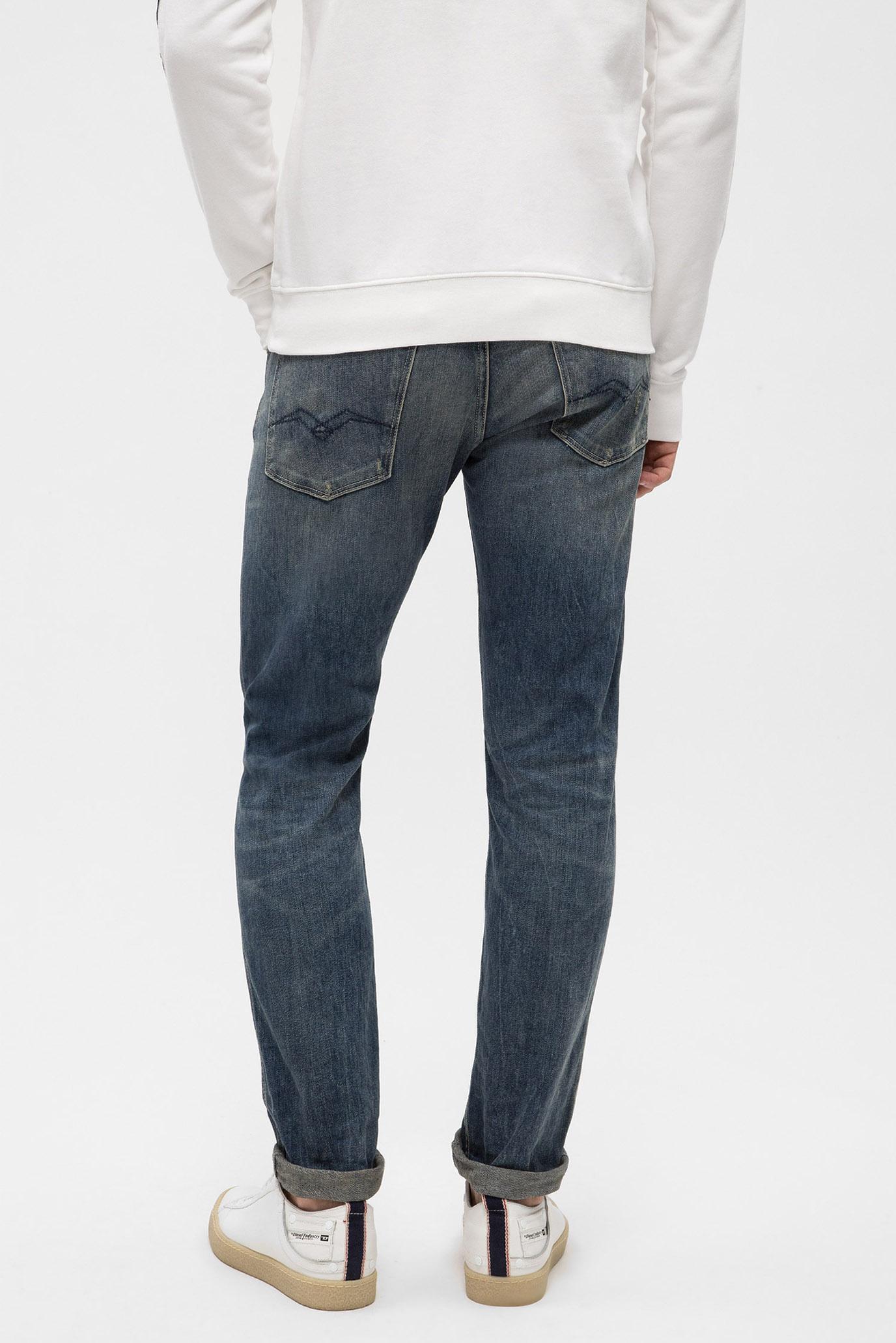 Купить Мужские синие джинсы ANBASS Replay Replay M914B .000.153 351 – Киев, Украина. Цены в интернет магазине MD Fashion