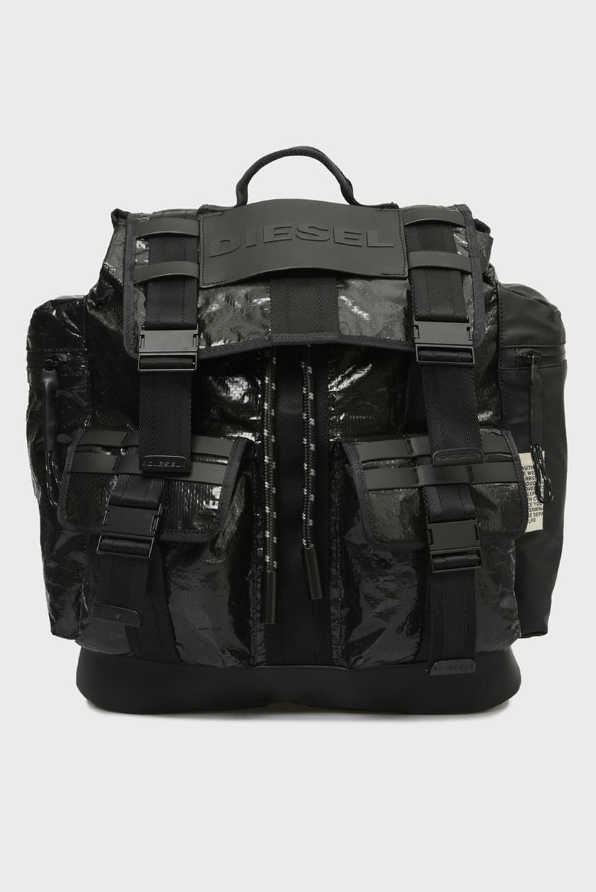 Мужской черный рюкзак CAGE