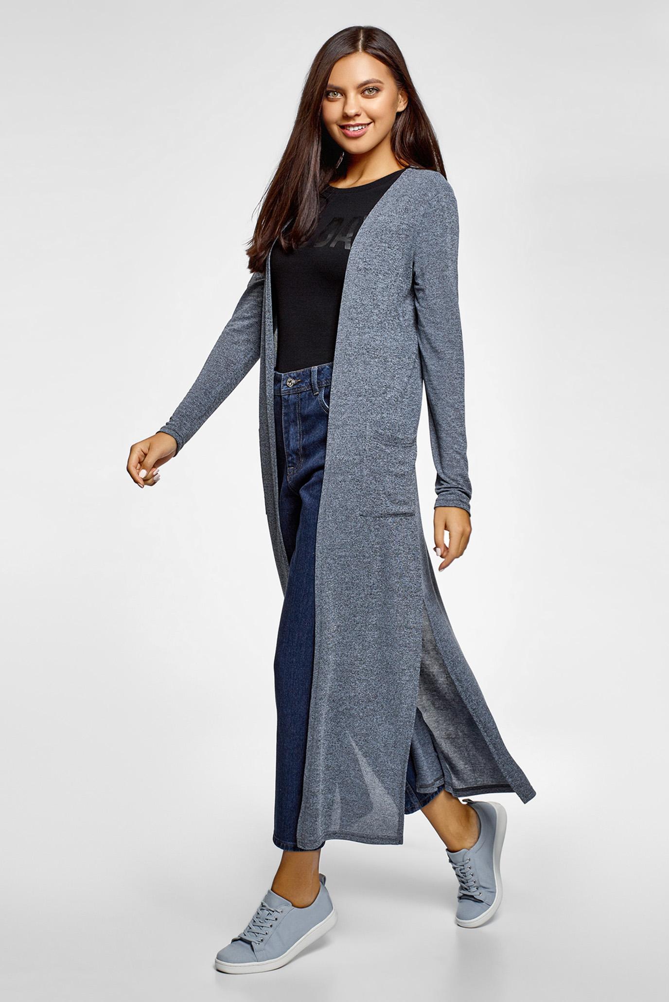 Купить Женские темно-синие джинсы Mom Fit Oodji Oodji 12105110/45254/7900W – Киев, Украина. Цены в интернет магазине MD Fashion