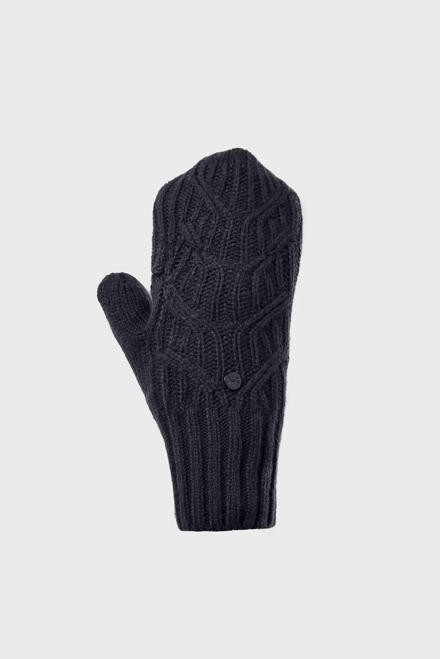 Женские черные рукавицы Around Town Mitten