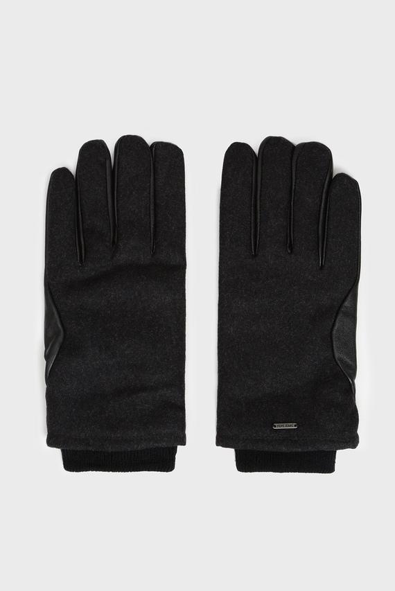 Мужские черные перчатки ANTUAN