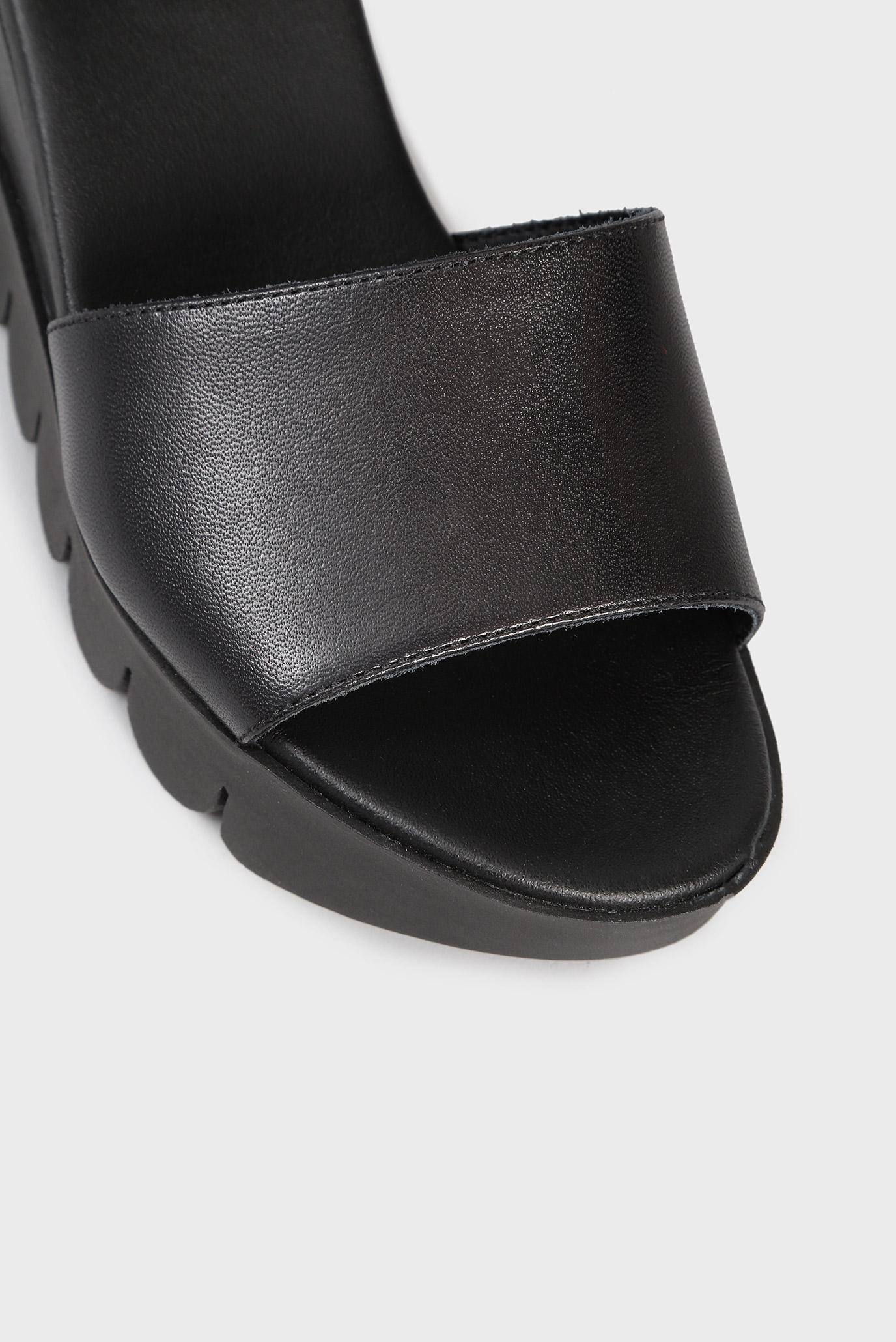 Купить Женские черные кожаные сандалии Tosca Blu  Tosca Blu  SS1820S382 – Киев, Украина. Цены в интернет магазине MD Fashion