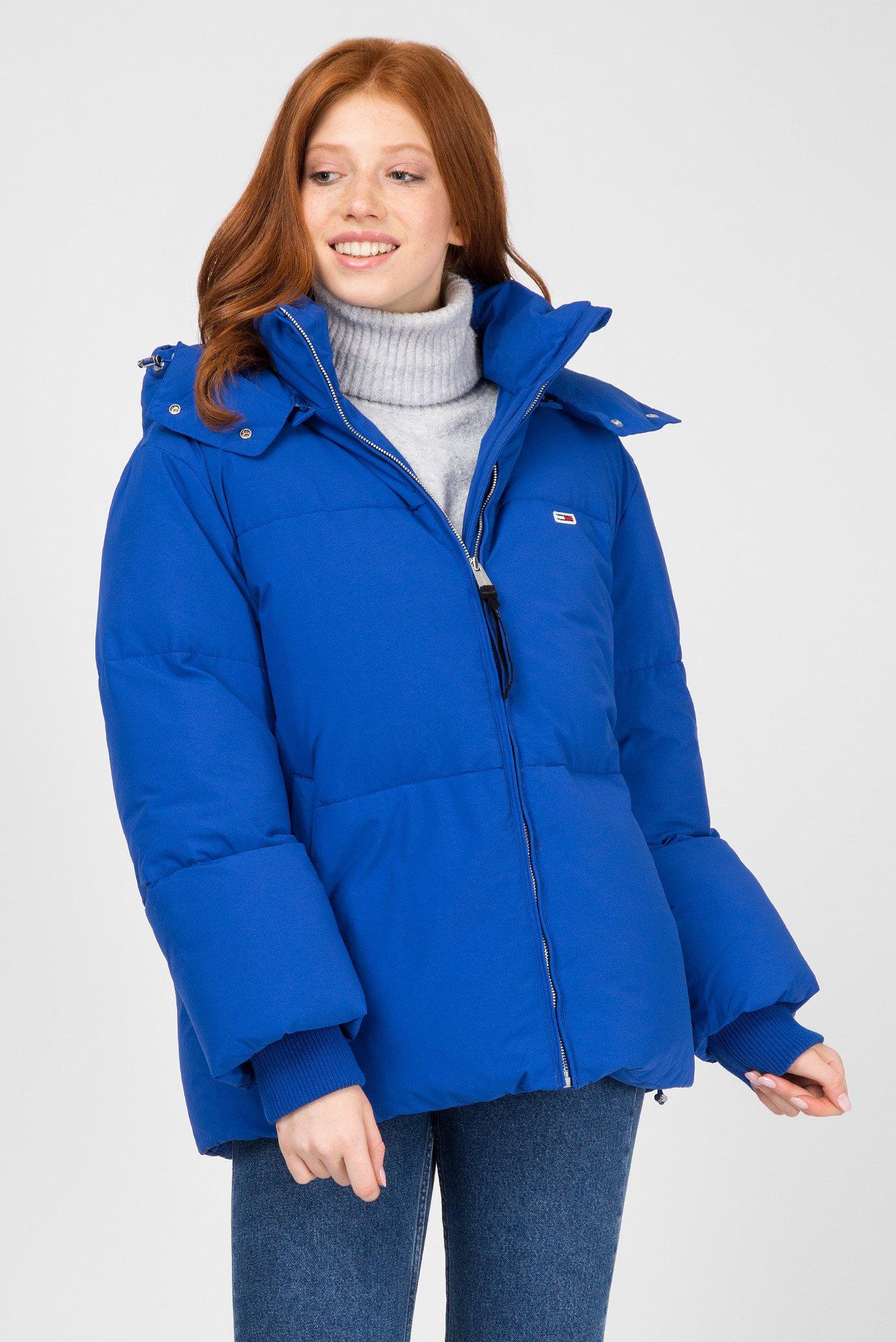 940b24a1be2 Купить Женская синяя куртка Tommy Hilfiger Tommy Hilfiger DW0DW05183 –  Киев