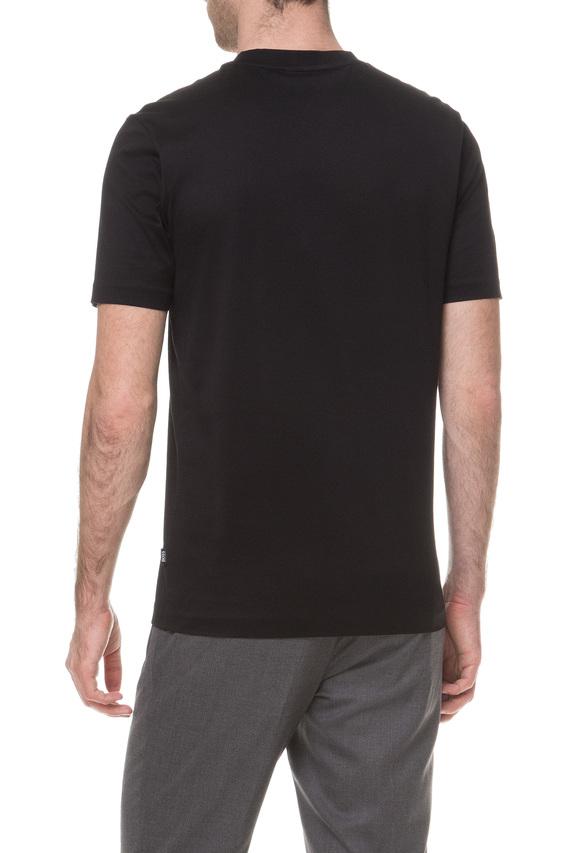 Мужская черная футболка Meissen